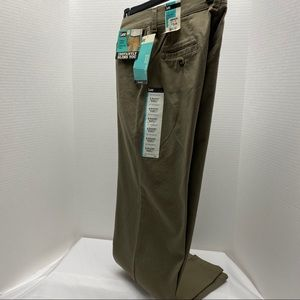 LEE relaxed straight leg stretch NWT olive sz 8 S
